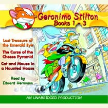Geronimo Stilton: Books 1-3 by Geronimo Stilton audiobook