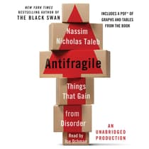 Antifragile: Things That Gain from Disorder by Nassim Nicholas Taleb audiobook