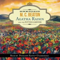 Agatha Raisin and the Potted Gardener by M. C. Beaton audiobook