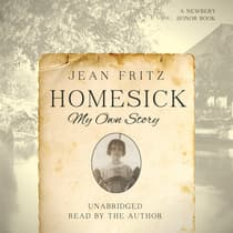 Homesick by Jean Fritz audiobook