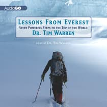 Lessons from Everest by Dr. Tim Warren audiobook