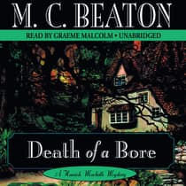 Death of a Bore by M. C. Beaton audiobook