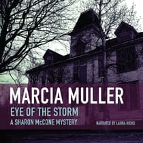 Eye of the Storm by Marcia Muller audiobook