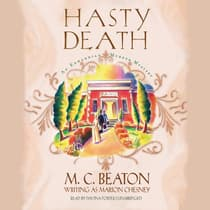 Hasty Death by M. C. Beaton audiobook