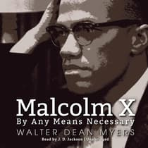Malcolm X by Walter Dean Myers audiobook