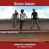 Rainbow High by Alex Sanchez audiobook