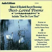 Robert and Elizabeth Barrett Browning: Best-Loved Poems by Robert Browning audiobook