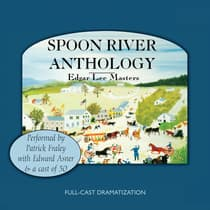 Spoon River Anthology by Edgar Lee Masters audiobook