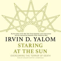 Staring at the Sun by Irvin D. Yalom audiobook