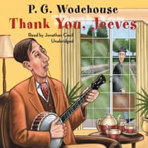 Thank You, Jeeves by P. G. Wodehouse audiobook