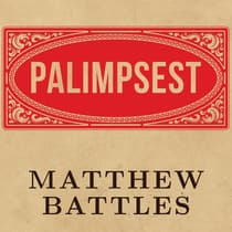 Palimpsest by Matthew Battles audiobook