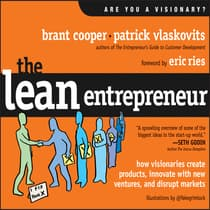 The Lean Entrepreneur by Brant Cooper audiobook