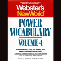 Webster's New World Power Vocabulary, Vol. 4 by Elizabeth Morse-Cluley audiobook