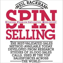 SPIN Selling by Neil Rackham audiobook