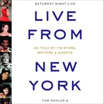 Live from New York by Tom Shales audiobook