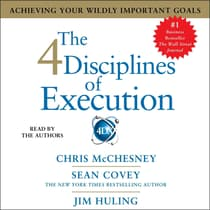 The 4 Disciplines of Execution by Sean Covey audiobook