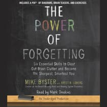 The Power of Forgetting by Mike Byster audiobook