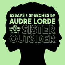 Sister Outsider by Audre Lorde audiobook