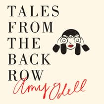 Tales from the Back Row by Amy Odell audiobook