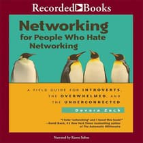 Networking for People by Devora Zack audiobook
