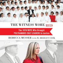 The Witness Wore Red by Rebecca Musser audiobook
