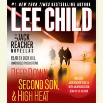 Three Jack Reacher Novellas by Lee Child audiobook