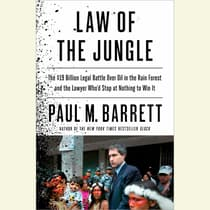 Law of the Jungle by Paul M. Barrett audiobook