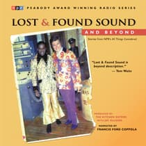 Lost and Found Sound and Beyond by The Kitchen Sisters audiobook