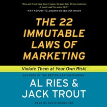The 22 Immutable Laws of Marketing by Al Ries audiobook