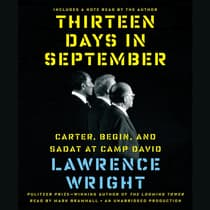 Thirteen Days in September by Lawrence Wright audiobook