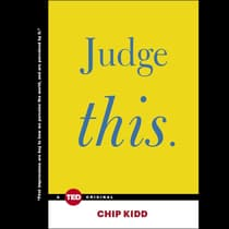 Judge This by Chip Kidd audiobook