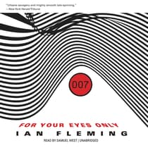 For Your Eyes Only, and Other Stories by Ian Fleming audiobook