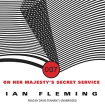 On Her Majesty's Secret Service by Ian Fleming audiobook