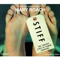 Stiff by Mary Roach audiobook