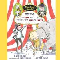 Three-Ring Rascals, Books 1-2 by Kate Klise audiobook