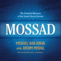 Mossad by Michael Bar-Zohar audiobook