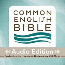 CEB Common English Bible Audio Edition with music - Exodus, Leviticus, Numbers, Deuteronomy by Common English Bible audiobook