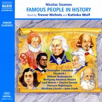 Famous People in History, Vol. 1 by Nicolas Soames audiobook
