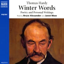Winter Words by Thomas Hardy audiobook
