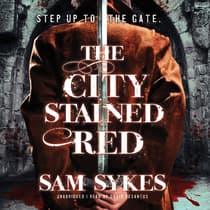 The City Stained Red by Sam Sykes audiobook
