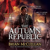 The Autumn Republic by Brian McClellan audiobook