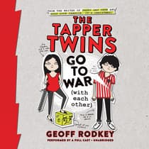 The Tapper Twins Go to War (with Each Other) by Geoff Rodkey audiobook
