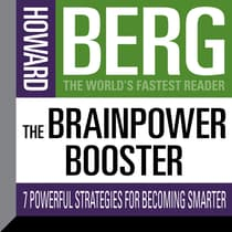 The Brainpower Booster by Howard Stephen Berg audiobook