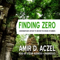 Finding Zero by Amir D. Aczel audiobook