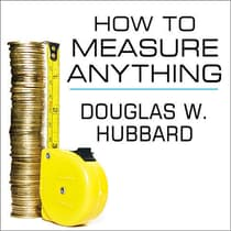 How to Measure Anything by Douglas W. Hubbard audiobook