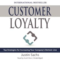 Customer Loyalty by Justin Sachs audiobook