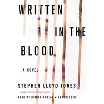 Written in the Blood by Stephen Lloyd Jones audiobook