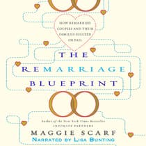 The Remarriage Blueprint by Maggie Scarf audiobook