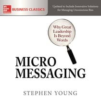 Micromessaging by Stephen Young audiobook