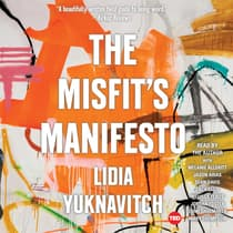 The Misfit's Manifesto by Lidia Yuknavitch audiobook